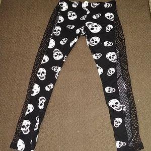 Pants - Skull Leggings Tights
